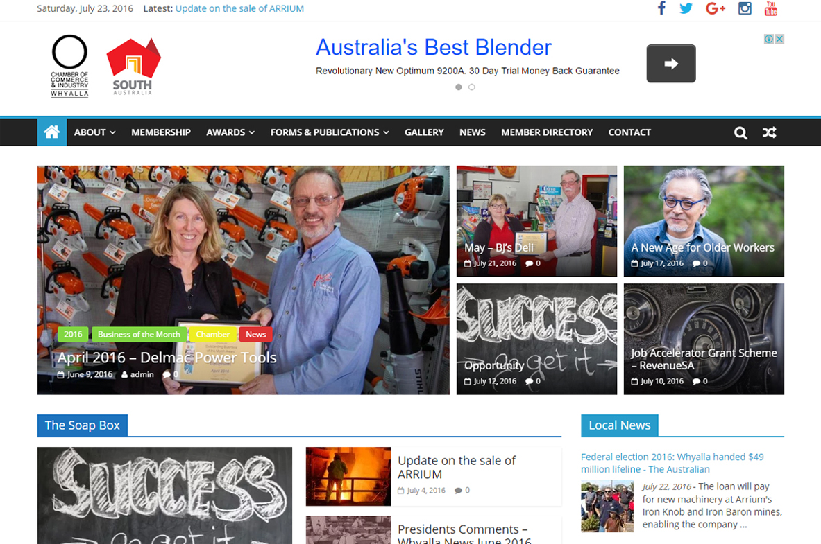 Whyalla Chamber of Commerce & Industry